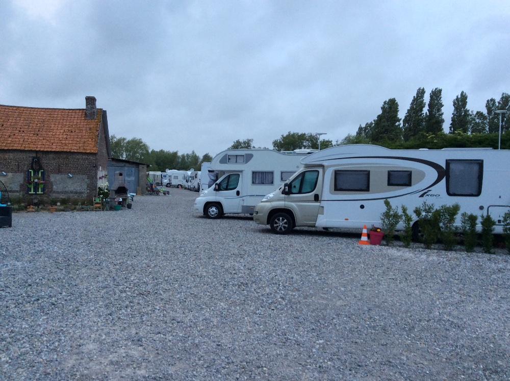 Aire camping-car à Lanchères (80230) - Photo 1